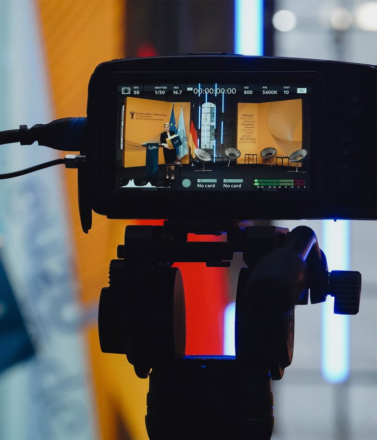 Livestreaming Camera Close Up